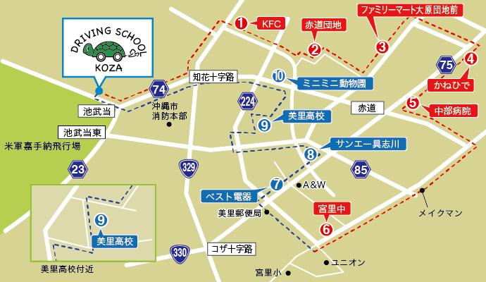 登川・宮里マップ